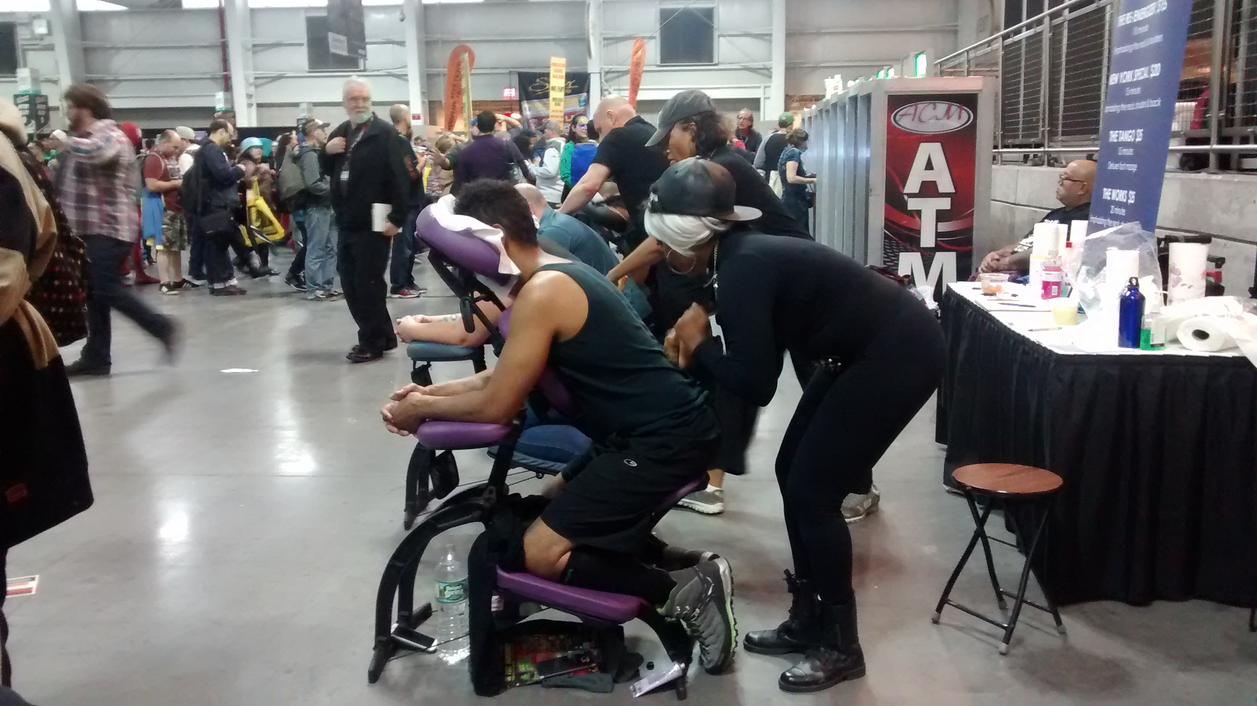 massage Comic Con New York