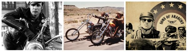 Motos a la cultura popular: Salvatge, Easy Rider i Sons of Anarchy