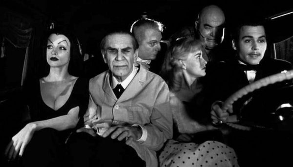 Ed Wood and crew