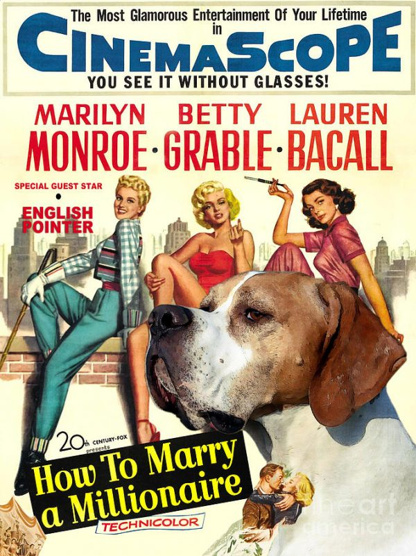 english-pointer-art-canvas-print-how-to-marry-a-millionaire-movie-poster-sandra-sij
