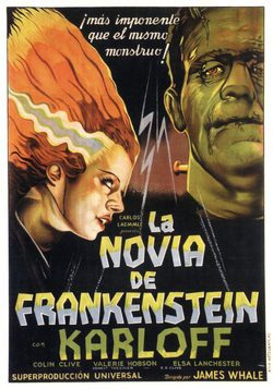 LA NOVIA DE FRANKENSTEIN James Whale