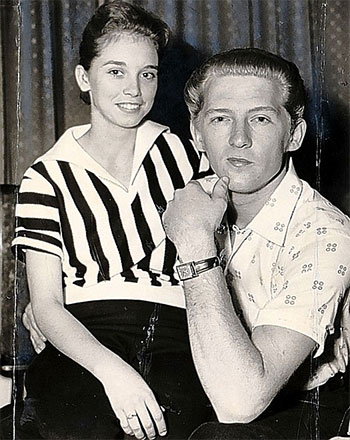 Myra Gale i Jerry Lee Lewis
