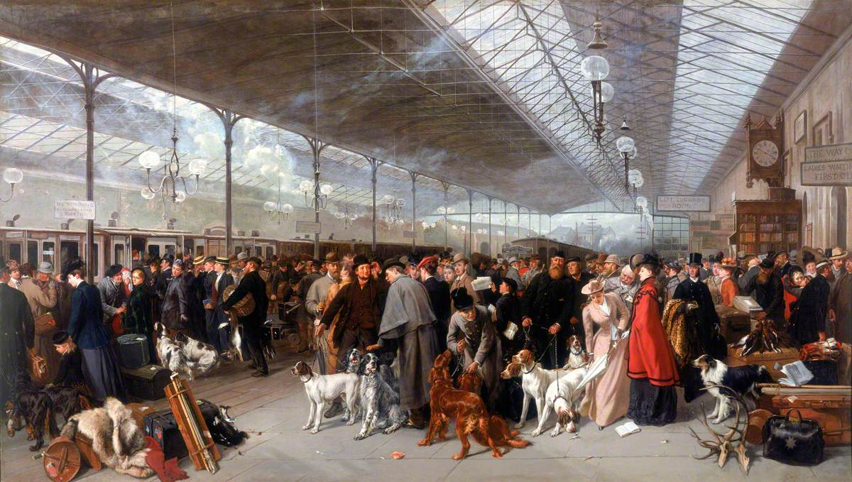 Earl, George; Coming South: Perth Station; National Railway Museum; http://www.artuk.org/artworks/coming-south-perth-station-9389