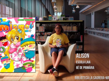 Booktubers a la Biblioteca La Sagrera-Marina Clotet: Alison