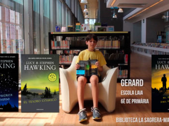 Booktubers a la Biblioteca La Sagrera-Marina Clotet: Gerard