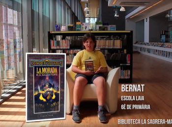 Booktubers a la Biblioteca La Sagrera-Marina Clotet: Bernat