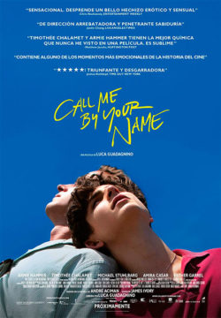 Call me by your name GUADAGNINO, Luca