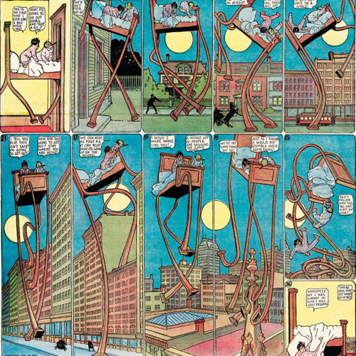 Little Nemo In Slumberland; Winsor McCay.