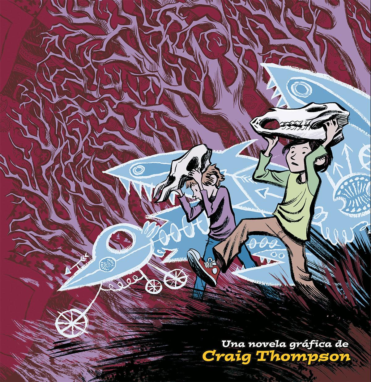 Thompson, Craig Blankets: una novel·la gràfica