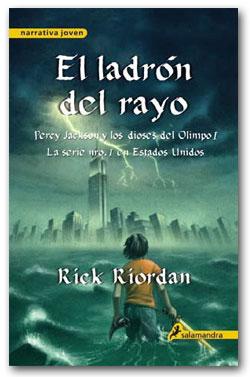 El ladrón del rayo - Rick Riordan