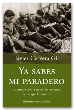 Ya sabes mi paradero - Javier Cervera Gil