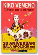 Cocert 20 aniversari a la Sala Apolo de Barcelona