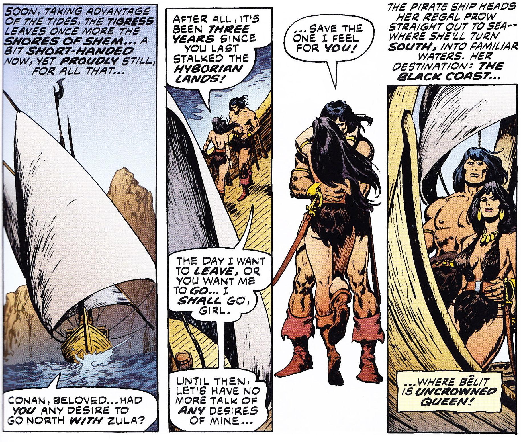 Conan y Bêlit - Roy Thomas & John Buscema