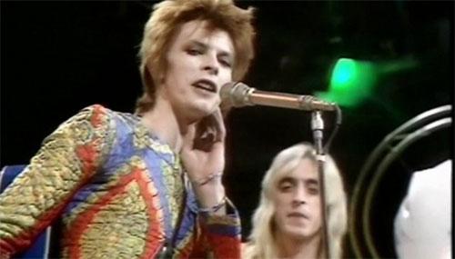David Bowie interpretant Starman