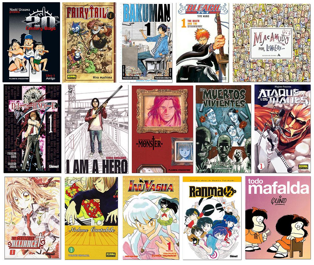 Còmics més prestats 2015