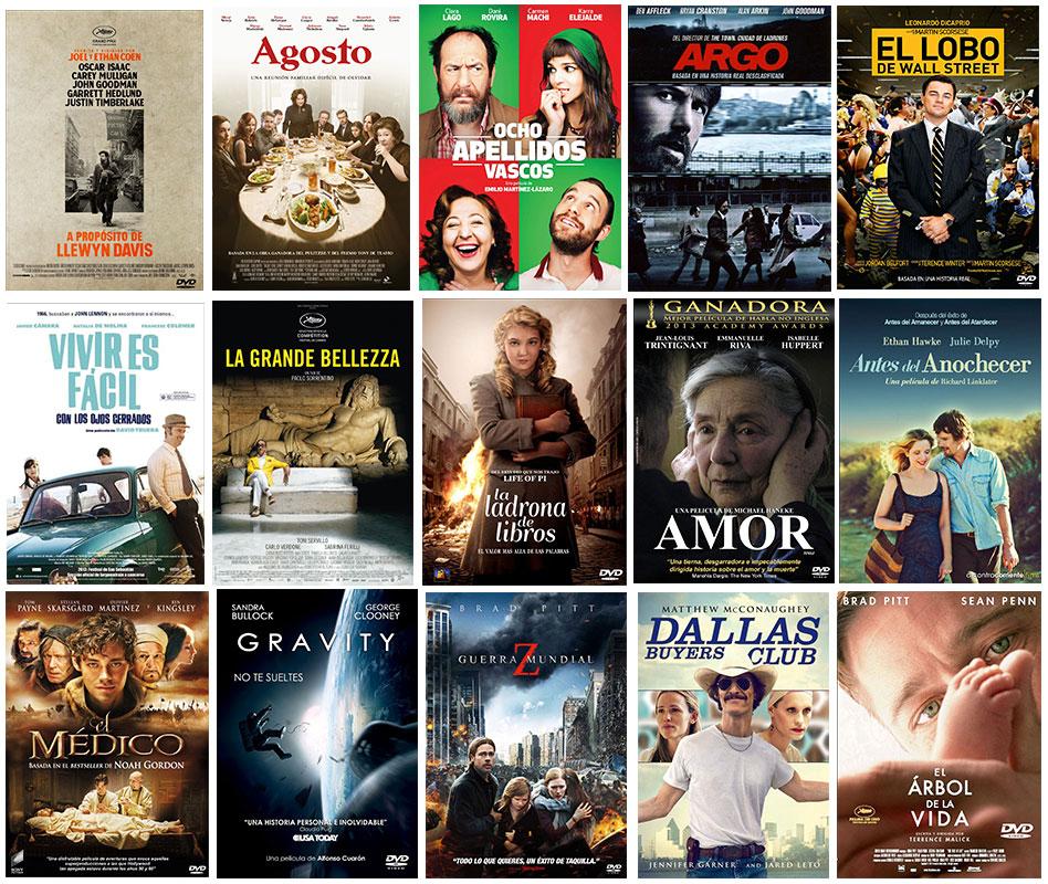 Els més prestats 2015 Cinema