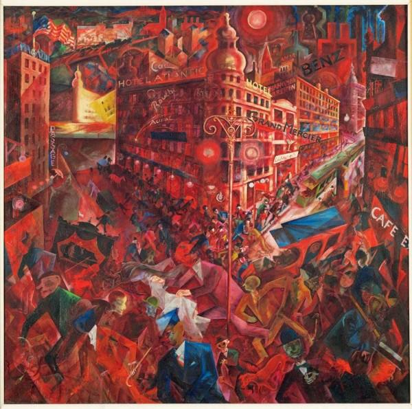 Metrópolis - George Grosz