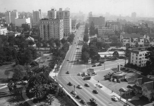 Los Angeles CA Wilshire Boulevard