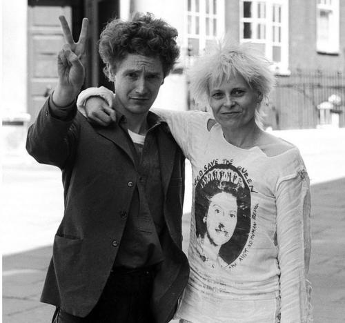 Malcolm McLaren i Vivianne Westwood
