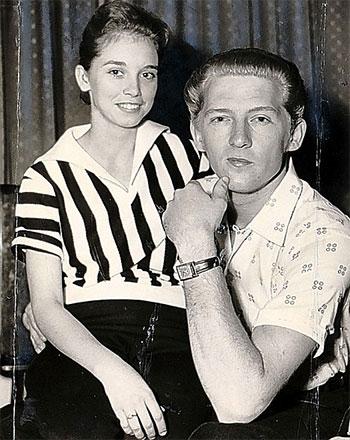 Myra Gale i Jerry Lee Lewis