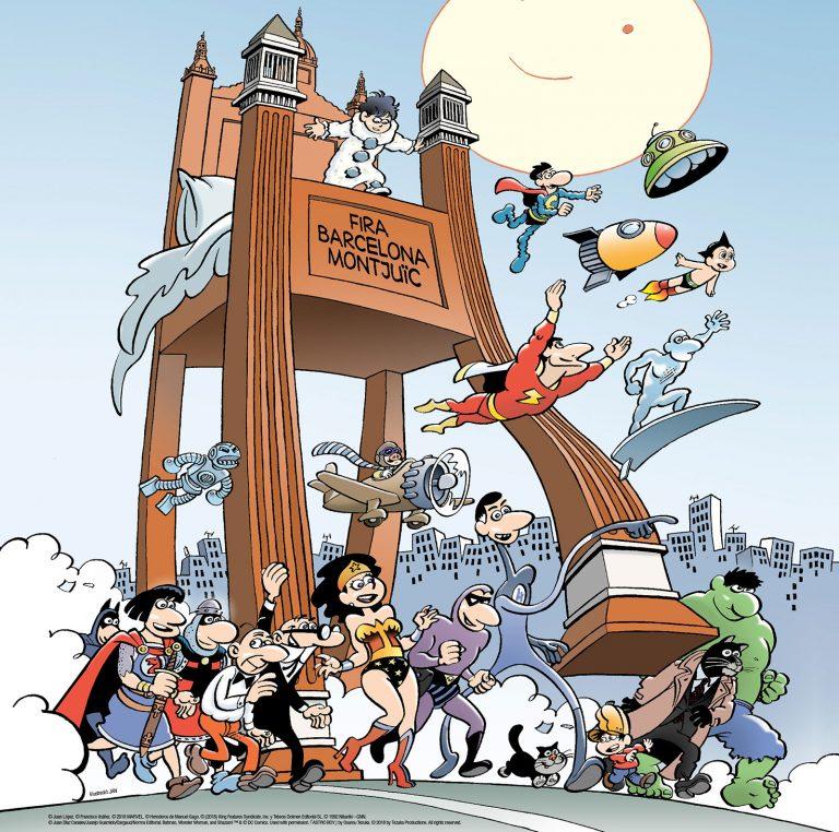 salo internacional del comic de barcelona 2018