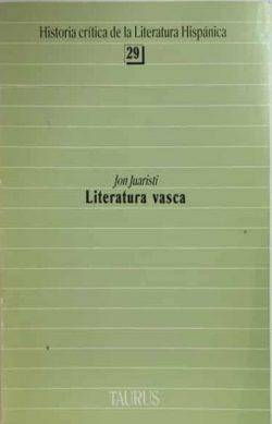 Literatura vasca  JUARISTI, Jon