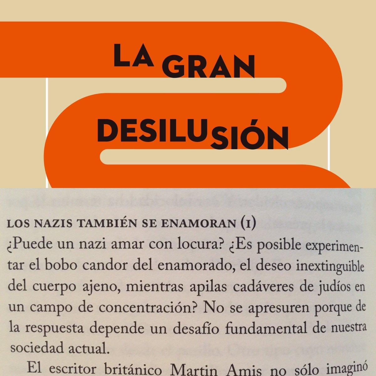 La Gran Desilusión, de Javi Gómez