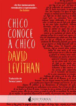 Chico conoce a chico  LEVITHAN, David