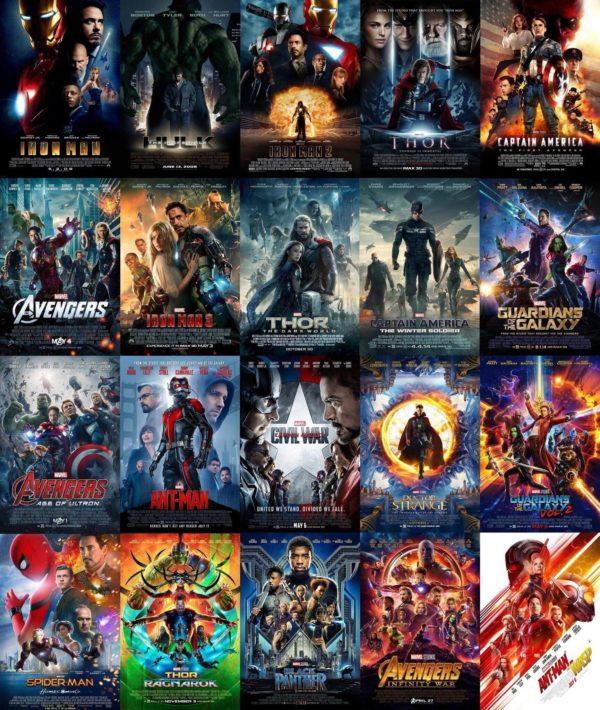 Les pel·lícules que adapten històries dels còmics Marvel a la pantalla gran s'han fet tremendament populars els darers anys.