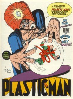 """Una imatge del dibuixant Jack Cole pel còmic """"Plastic Man""""."""