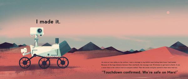 Curiosity: la història d'un robot de Mart Motum, Markus