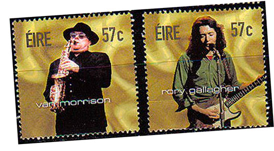 VAN MORRISON · RORY GALLAGHER