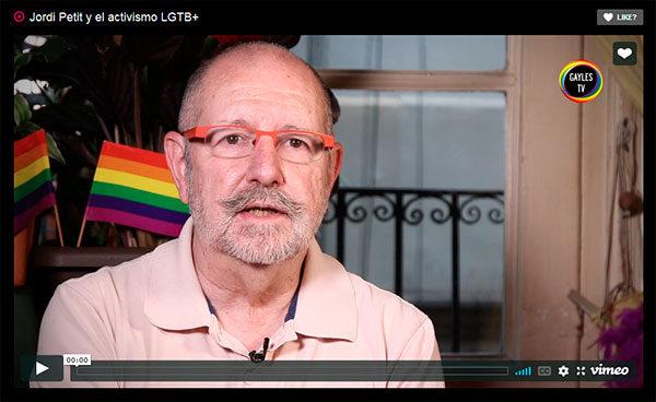Jordi Petit y el activismo LGTB+ Like?