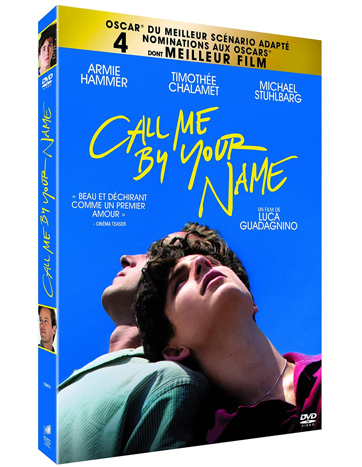 Guadagnino, Luca. Call me by your name