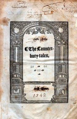 Cuentos de Canterbury  Chaucer, Geoffrey