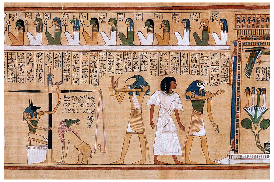 Literatura Egipte