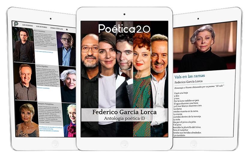 Portada App Federico Garcia Lorca - Poetica 2.0