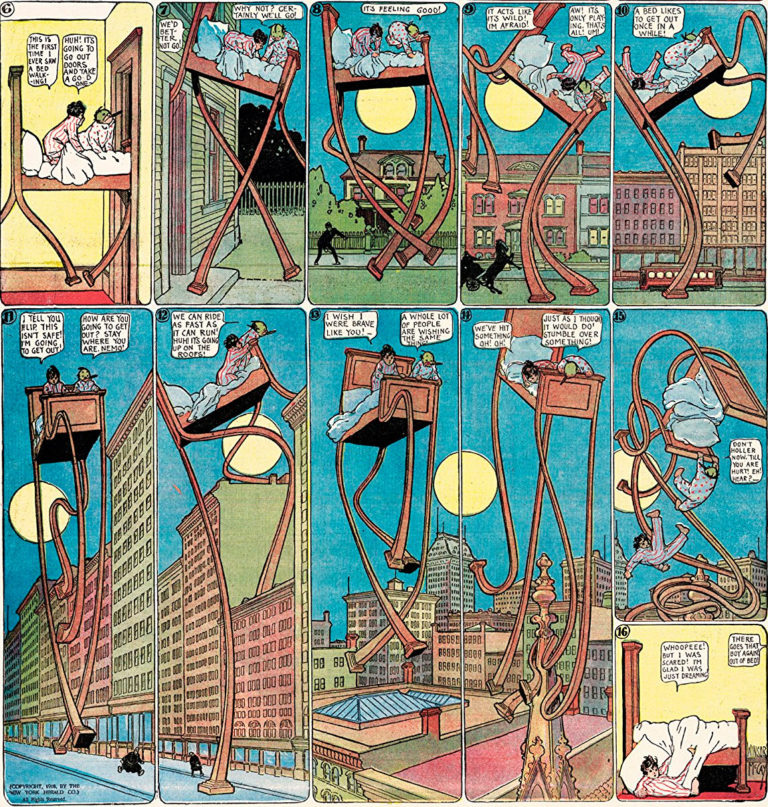 Little Nemo In Slumberland; Winsor McCay.