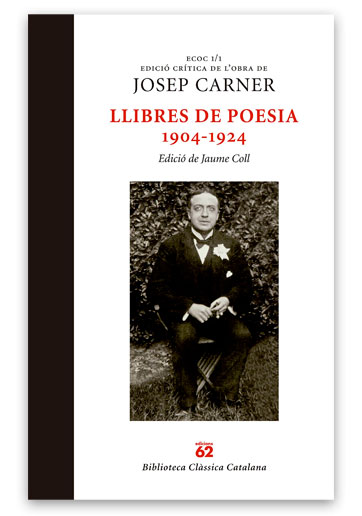 Llibres de poesia: 1904-1924 CARNER, Josep