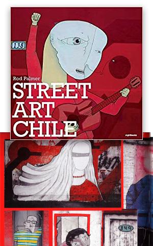 Street art Chile PALMER, Rod
