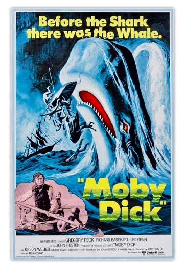 Moby Dick HUSTON, John / BRADBURY, Ray (Guionista)