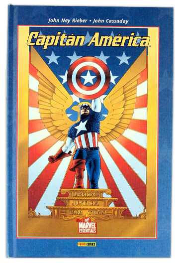 Capitán América RIEBER, John Ney
