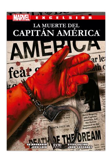 La Muerte del Capitán América LOEB, Jeph