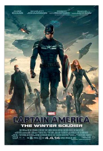 Capitán América El Soldado de Invierno RUSSO, Anthony y Joe