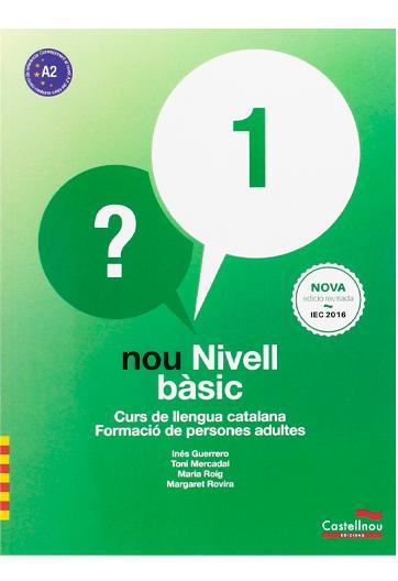 Nou nivell bàsic: curs de llengua catalana: formació de persones adultes