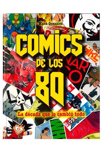 GONZÁLEZ, Manu Cómics de los 80