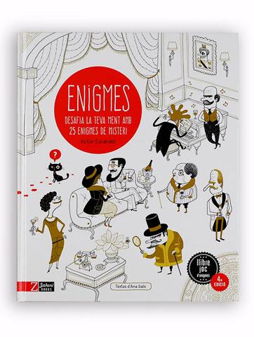 Enigmes: desafia la teva ment amb 25 històries de misteri Víctor Escandell