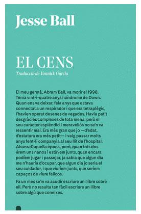 BALL, Jesse El Cens