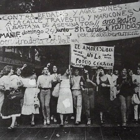 Més de 40 anys d'orgull i alliberament LGTBI